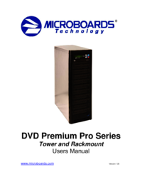 Voir le document Microboards-technology Premium Pro Series Manuel de l'utilisateur